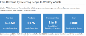 compensation at wealthy affiliate